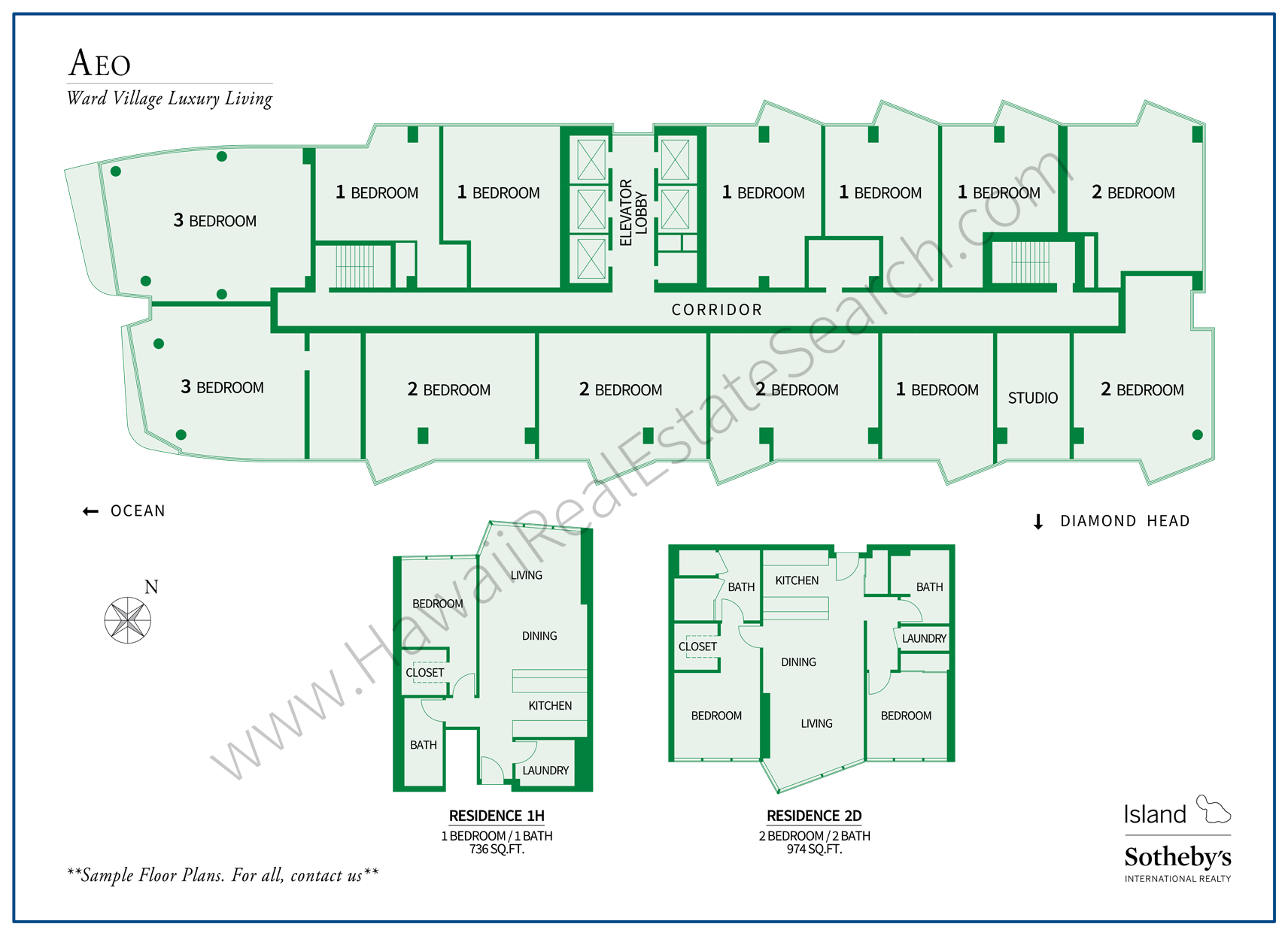 aeo map and floor plans